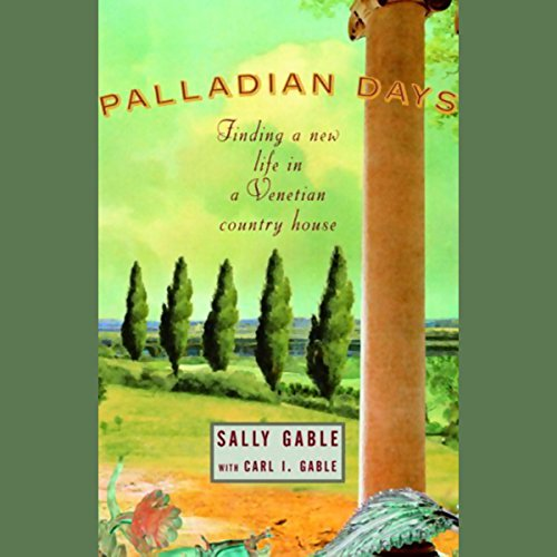 Palladian Days audiobook cover art