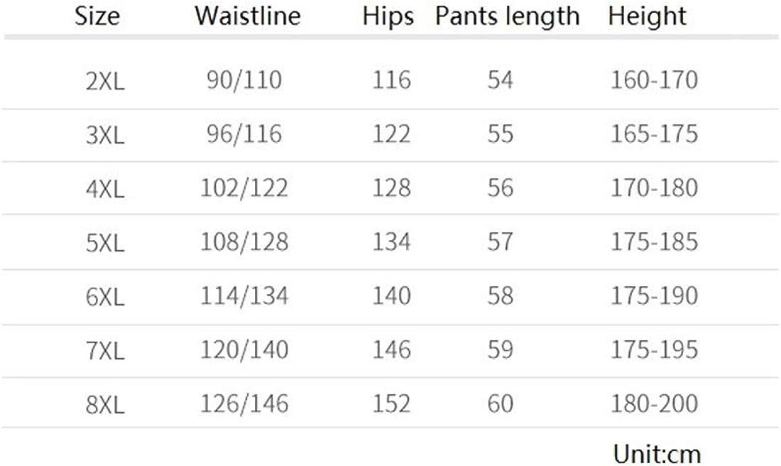 Été Section Mince Cinq Jeans de Grande Taille lâche Tendance de la Taille des Pantalons pour Hommes Ainsi Que des Engrais pour Augmenter la Graisse Short Black