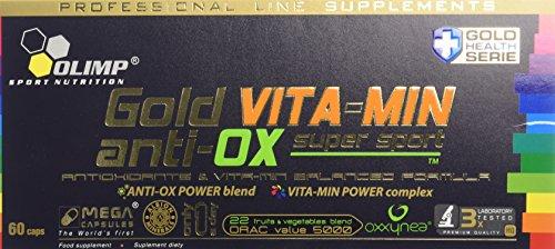 Olimp Gold VITA-MIN anti-OX super sport 60 Capsules
