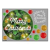 ウィンドウシール Christmas ツリー緑地 40200 (受注生産)