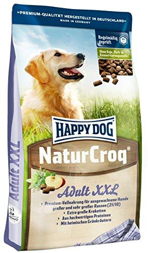 Happy Dog Naturcroq Croquette pour Chien Adulte Grande Race 15 kg Taille XXL