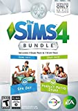 The Sims 4 Bundle Spa Day & Perfect Patio Stuff Expansion Pack