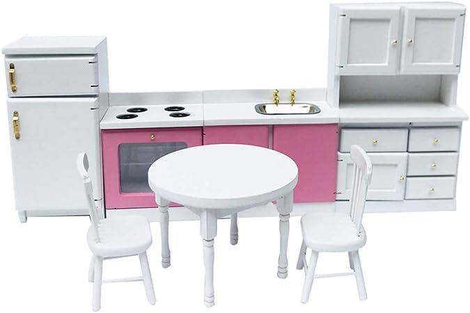 1//12 Scale Dollhouse Miniature Furniture Refrigerator Dining Room Decor