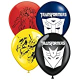 Transforming Robots Inspired 16 Count Party Balloon Pack - Large 12' Latex Balloons