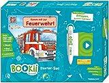 BOOKii Starter-Set. WAS IST WAS Kindergarten. Unterwegs mit der Feuerwehr!: BOOKii Der Hörstift mit Aufnahmefunktion / bluetoothfähig / mit Akku / ... Mitnehmen / Ladekabel mit 3-fach-Anschluss