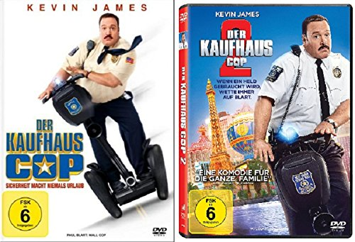 Der Kaufhaus Cop 1+2 / I&II DVD Set (Kevin James, Steve Carr)