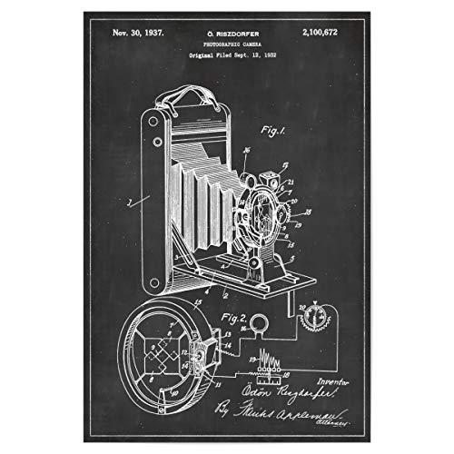 artboxONE Poster 30x20 cm Reise Antike Fotoapparat - Bild Antike Fotoapparat Fotoapparat Kamera