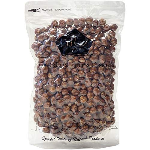 Cerez Pazari Turkish Raw Hazelnuts (Filberts) in Resealable Bag, Non-GMO, Unsalted, No Shell, Natural, Premium Quality, Gluten Free Healthy Snack, Snacks for Keto, Paleo, or Vegetarian Diet (2 Lbs)