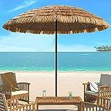 ZYS Sombrilla Plegable Sombrilla De Playa para Exteriores La Superficie De La Sombrilla Se Puede Inclinar para Que Los Cafés del Patio De La Playa Bloqueen El Sol, La Sombrilla Es Fácil De Almacenar