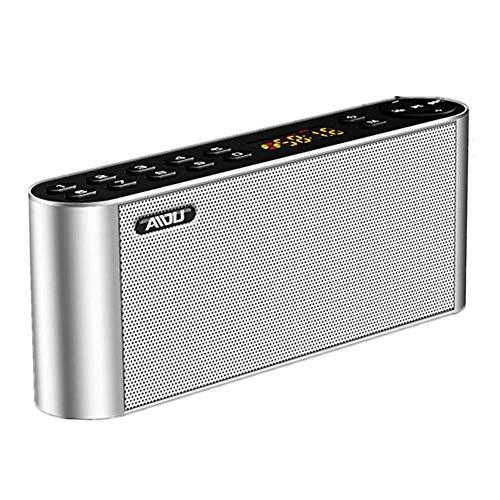 MYPNB Radio portátil, teléfono móvil del Altavoz de Bluetooth de Radio inalámbrica Ventilador insertado Subwoofer U Altavoz del Disco, for Caminar Que va de excursión (Color : B)