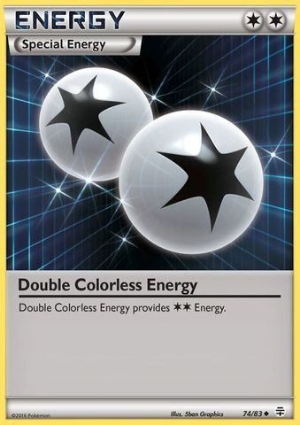 Pokemon - Double Colorless Energy (74/83) - Generations