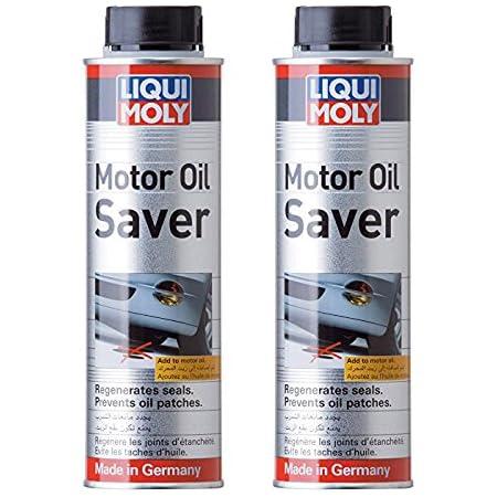 2 X Liqui Moly Motoröl Saver 300 Ml Regeneriert Dichtungen Stoppt Rauch Auto