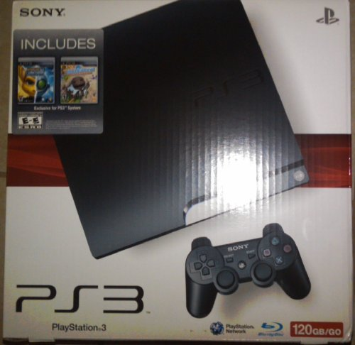 Playstation 3 120 Gb Including Ratchet & Clank Future a Crack in Time & Little Big Planet Game of the Year Ed.