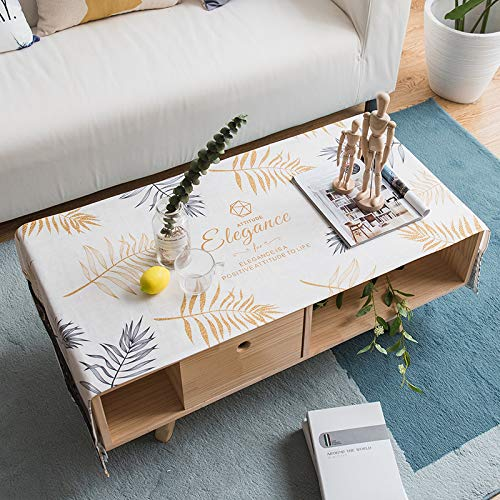 YXDZ Nordic Soggiorno Rettangolare Tavolino Da Caffè Tovaglia Tovaglia Tv Copertura Dell'Armadio Panno Casa Semplice Scrivania Panno