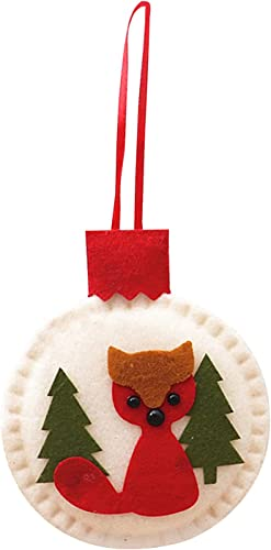 new arrival RiamxwR Christmas Tree Ornaments Christmas Felt Pendant Decorations Xmas Ball Tree Ornaments for Holiday online Party Decor online (Style B) online sale