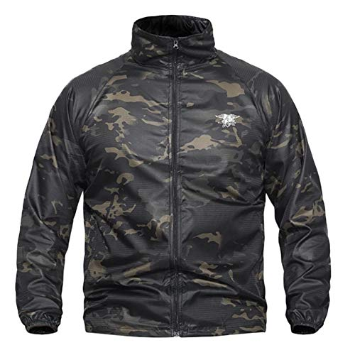 SHANGYI herenjack waterdicht jack heren windbreaker outdoorjas herenjack
