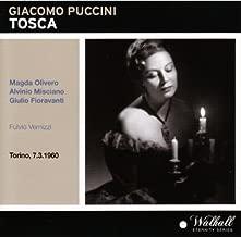 Puccini: Tosca. Magda Olivero; Alvinio Misciano; Giulio Fioravanti; Fulvio Vernizzi (Torino March 7, 1960) by Magda Olivero (0100-01-01)
