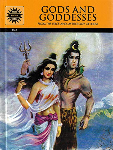 Gods and Goddesses - From the Epics and Mythology of India by Amar Chitra Katha (22 Comic Books)