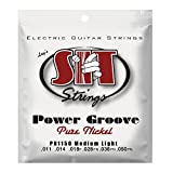 SIT PN1150 - Juego de cuerdas para guitarra eléctrica de níquel, 11-50