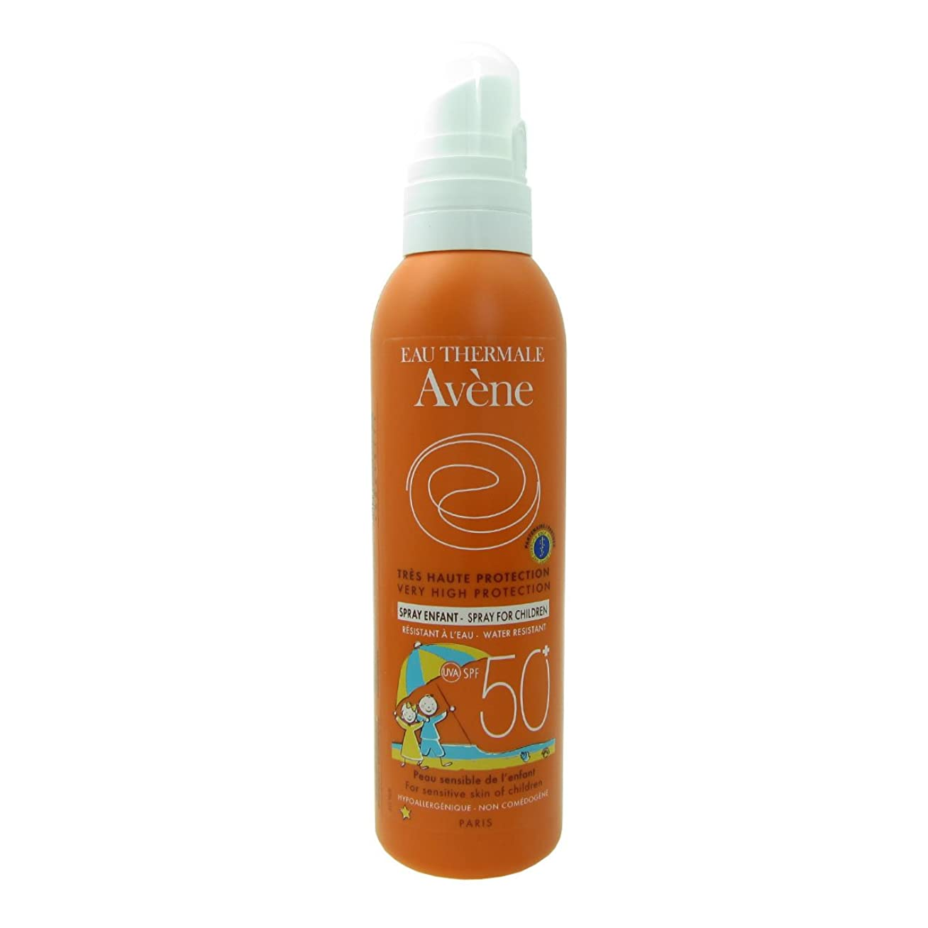 イノセンス維持の量Avene Sunscreen Spray Kids 50+ 200ml [並行輸入品]
