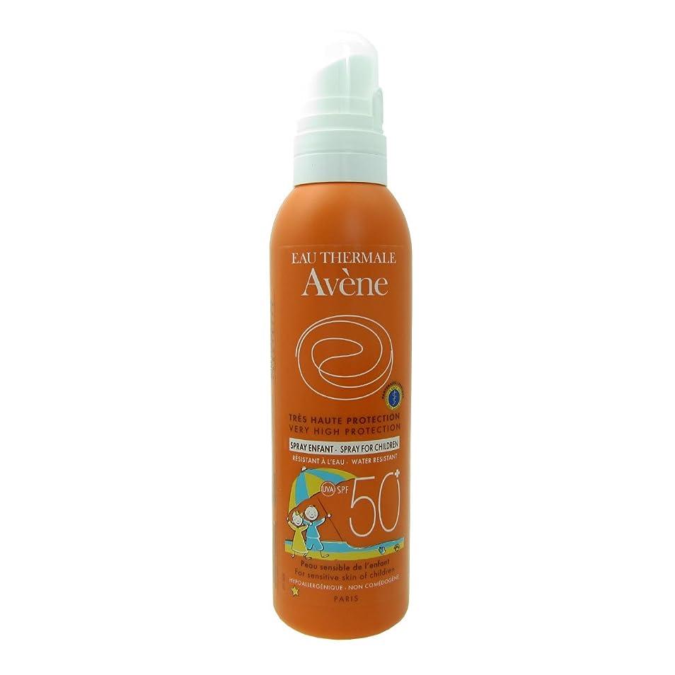 紳士理容師証拠Avene Sunscreen Spray Kids 50+ 200ml [並行輸入品]