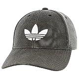 adidas Hombres Originals Trefoil Plus Precurve, Hombre, 976041, Punto Negro/Blanco, Talla única