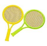 Black Temptation Enfants créatifs Jouets Mignon Tennis Raquette Badminton Raquette-Random Couleur