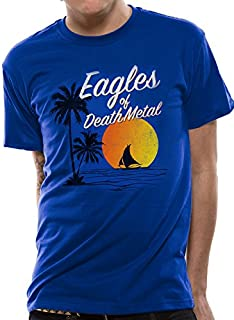 310bad974d4b1 Cid Eagles of Death Metal-Sun Logo, T-Shirt Homme