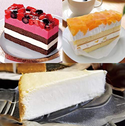 いちごとブルーベリーのケーキ りんごと桃のケーキ 濃厚ニューヨークチーズケーキ 3種類のスイーツセット 1822g