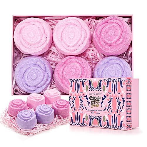 BODY & EARTH Bath Bombs Gift Set...