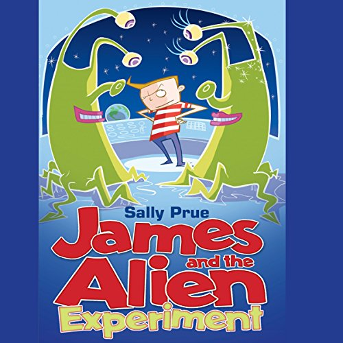 James and the Alien Experiment cover art