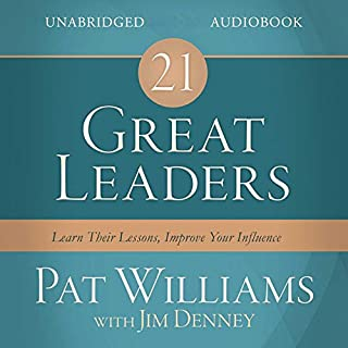 21 Great Leaders audiobook cover art