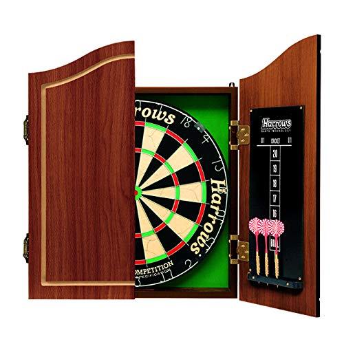 Harrows Pro's Choice - Conjunto para Jugar a los Dardos (Diana de 64 cm Tipo Mueble, 6 Dardos)