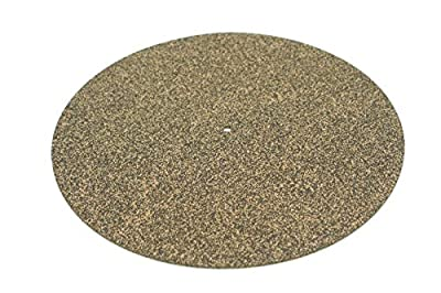 DB Phonic Cork and Rubber Turntable Record Player Slipmat for Audiophiles Sized 300mm x 3mm to Fit Most Stereo Hi Fi Systems from Db Phonic