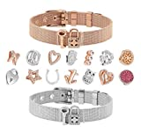 Just4Trend Charms für Mesh Armband 10mm | Mesh Charmband | Mesh Charmarmband - austauschbar Module 141-SL
