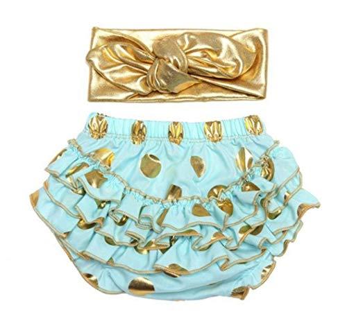 micia luxury(ミシアラグジュアリー) ベビーおむつカバー&ヘアバンド ケーキスマッシュ ハーフバースデー 誕生日 ギフト 6month ミント