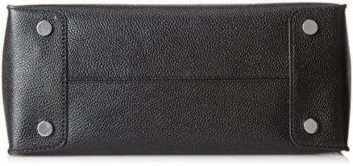 Michael Kors Mercer, Borsa Tote Donna, Nero (Black), 12.7x21.6x26 centimeters (W x H x L)
