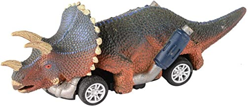 Ranoff Pull Back Vehicles Toys for 3-9 Year Old Age Boys Dinosaur Cars