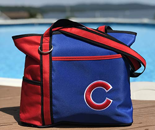 MLB Chicago Cubs Womens Tote Bag with Embroidered Logo