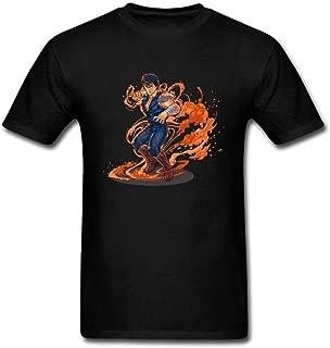 Men's Fist of The North Star Design Cotton T Shirt S