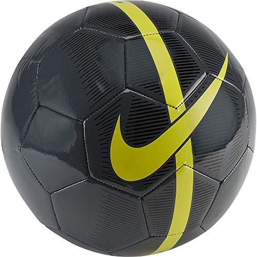 Nike NK Merc Fade, Pallone da Calcio Unisex Adulto, Anthracite/Black/Opti Yellow, 5