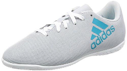 adidas X 17.4 In J, Zapatillas de fútbol Sala Unisex niños, Blanco (Ftwbla/Azuene/Gritra), 28 EU