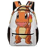 CHARMANDER school bag For Men And Women, Waterproof Elementary Middle School Book Bag For Teenager Boys, Teen Girls And Kids