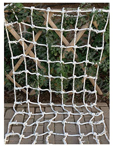 Find Bargain Nylon Climbing Net,Cargo Net Climbing Rope Netting for Kids Child Playground Rock Rope Cords Ladder Swing Sets Climb Nylon Playset Truck Trailer Container Tailgate Nets Giant Heavy  Duty Large Mesh