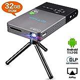 Proiettore Full HD,OTHA Proiettore Portatile,with Android Cavo Hdmi Auto...