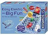 KOSMOS Easy Elektro - Big Fun, Entdecke die Welt der Elektronik, Radio bauen, mit Lautsprecher und...