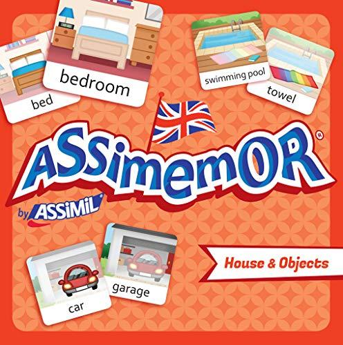 Assimemor House & Objects: Das kinderleichte Englisch-Gedächtnisspiel von ASSiMiL