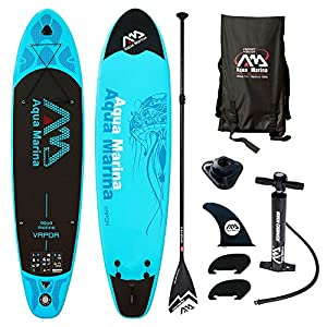 Aqua Marina Vapor 10.10ISUP Sup Stand Up Paddle Board con Sport II Remo, Vapor Board+Sport II Paddel