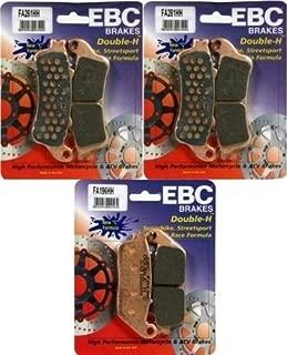 EBC HH Front + Rear Brake Pads (3 Sets) 2008-2012 Victory Vison / FA261HH FA196HH