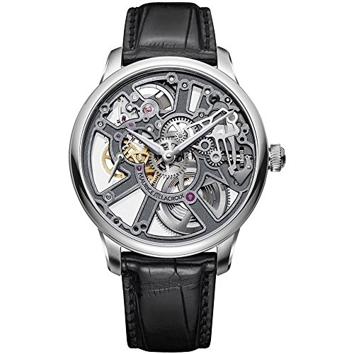 Maurice Lacroix Masterpiece Skeleton Automatic Watch, ML 134, Silver, Cayman